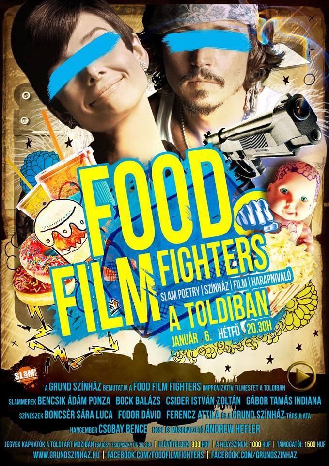 Food Film Fighters Január