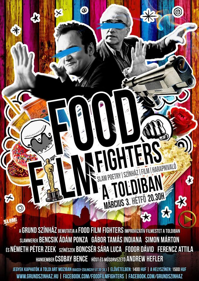 Food Film Fighters Március