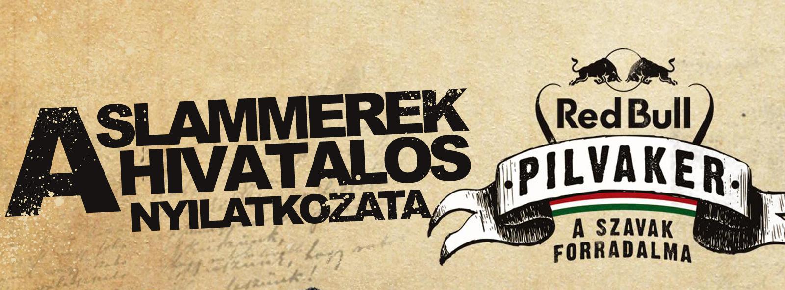 HIVATALOS NYILATKOZAT – PILVAKER 2014