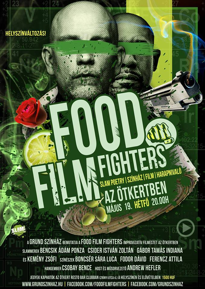 FOOD FILM FIGHTERS – MÁJUS