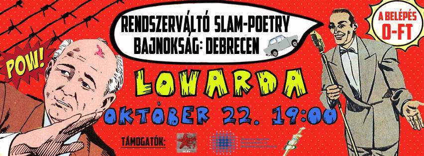 Rendszerváltó Slam Poetry
