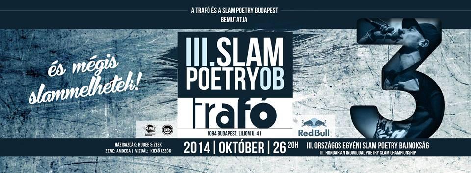 III. Országos Slam Poetry Bajnokság – döntő