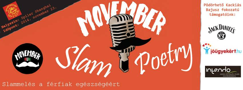 Movember Slam Poetry