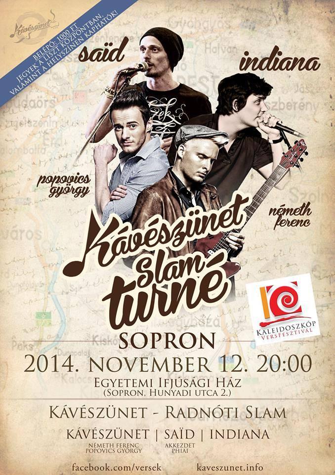 Kávészünet Sopron