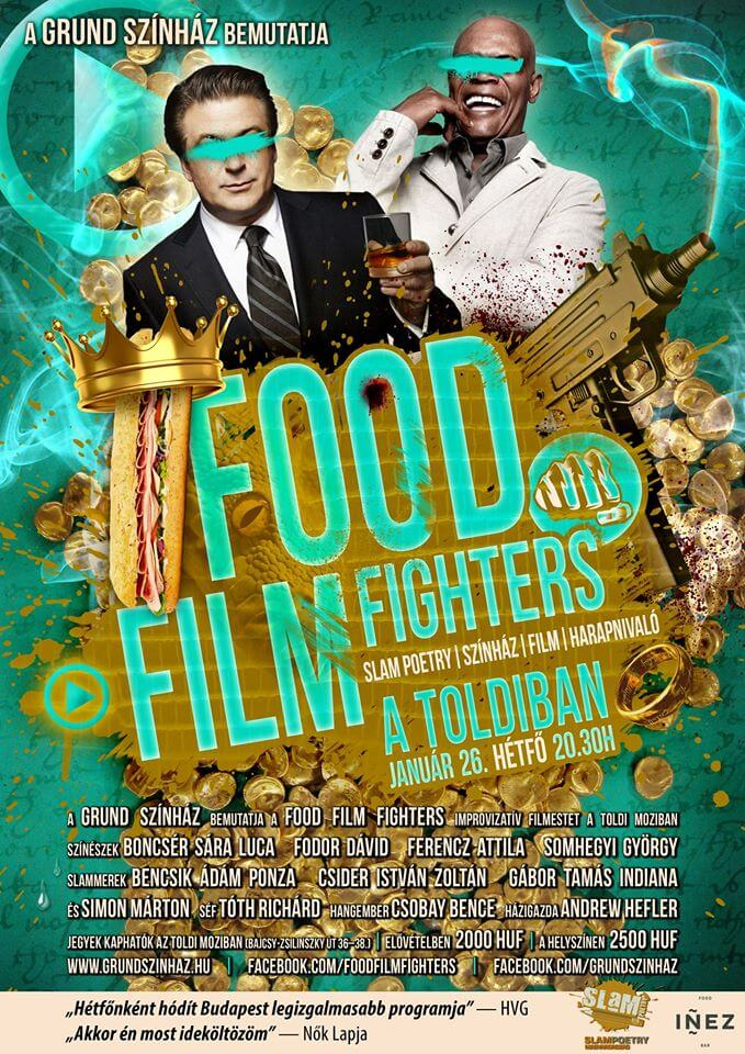 FOOD FILM FIGHTERS JANUÁR