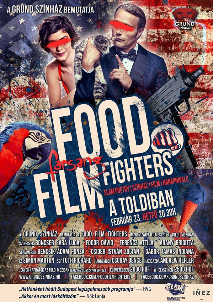 FOOD FILM FIGHTERS FEBRUÁR
