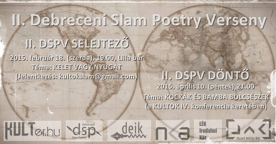 II. Debreceni Slam Poetry