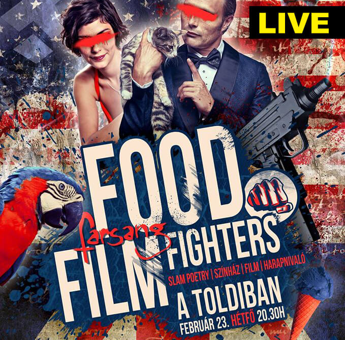 FOOD FILM FIGHTERS LIVE STREAM