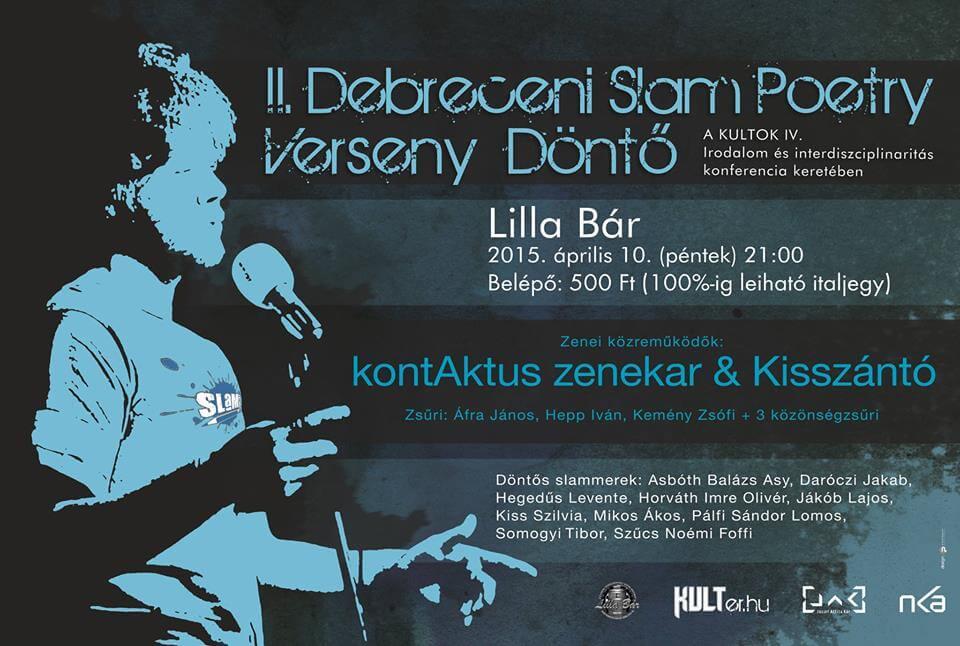 II. Debreceni Slam Poetry Verseny Döntő