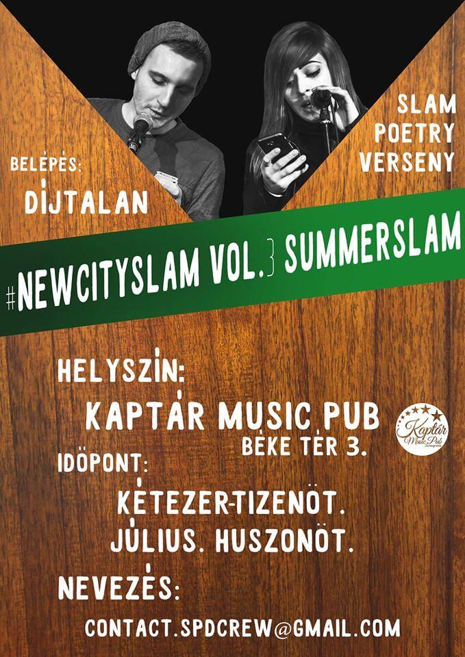 #newcityslam vol.3 SummerSlam