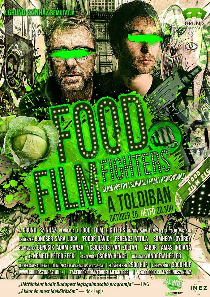 27. fOOD fILM fIGHTERS — 10.26.@Toldi