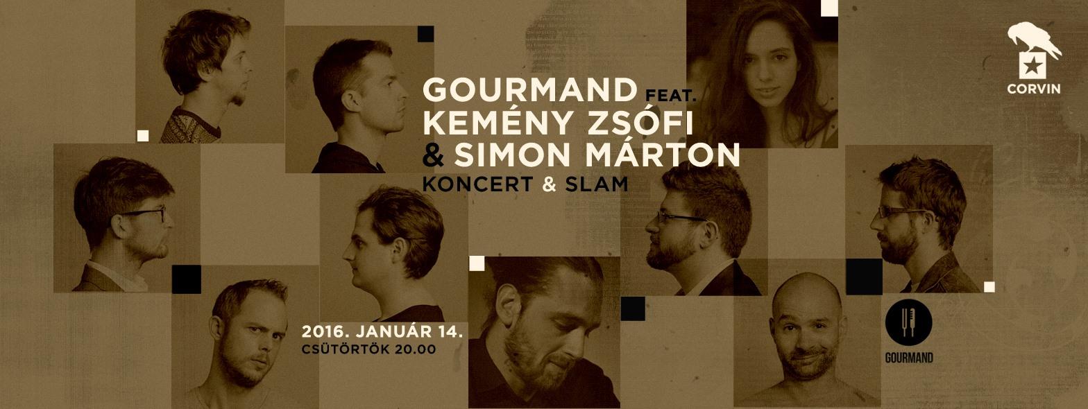 Gourmand feat. Kemény Zsófi és Simon Márton