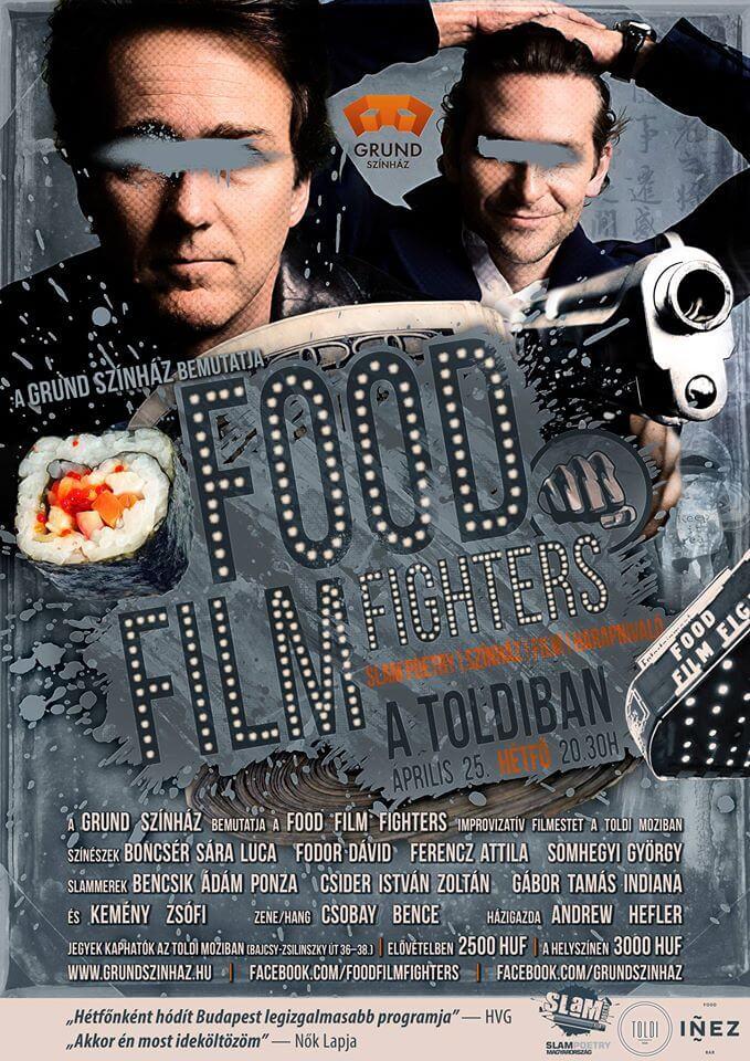 FOOD FILM FIGHTERS ÁPRILIS