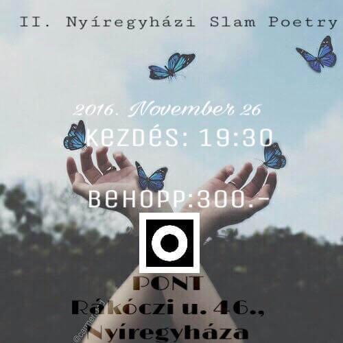 II. Slam Poetry Nyíregyháza