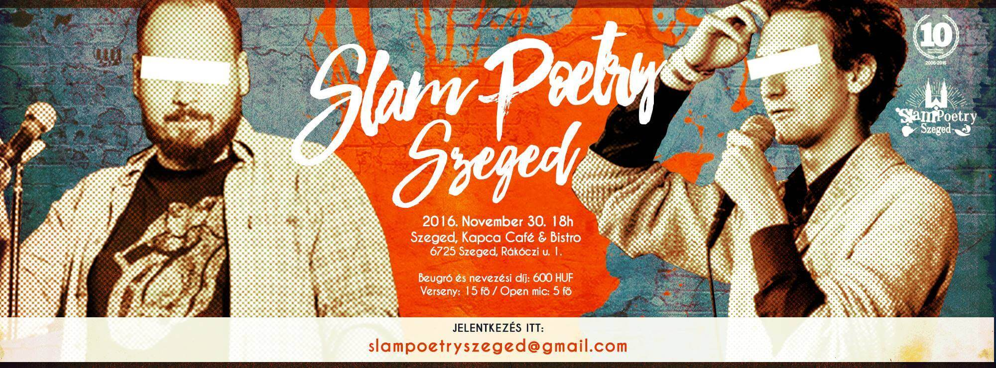 Slam Poetry Szeged Novemberi Klub