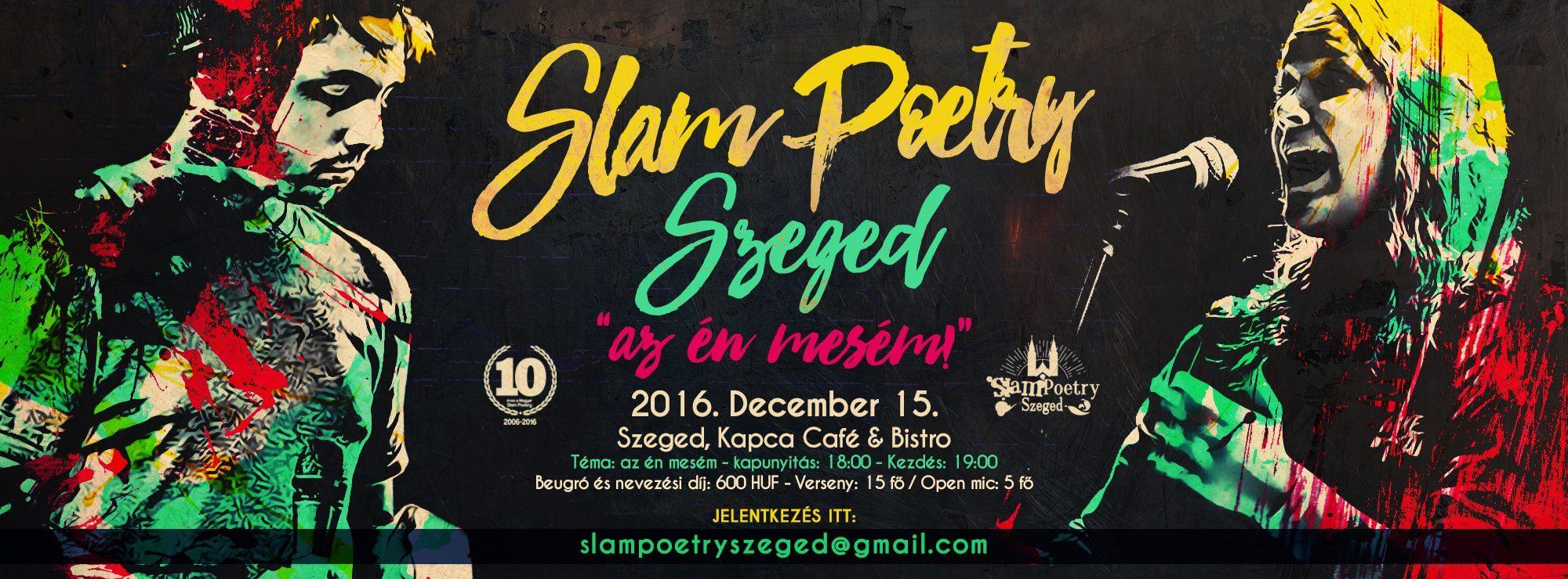 Slam Poetry Szeged – Évzáró Karácsonyi Klub