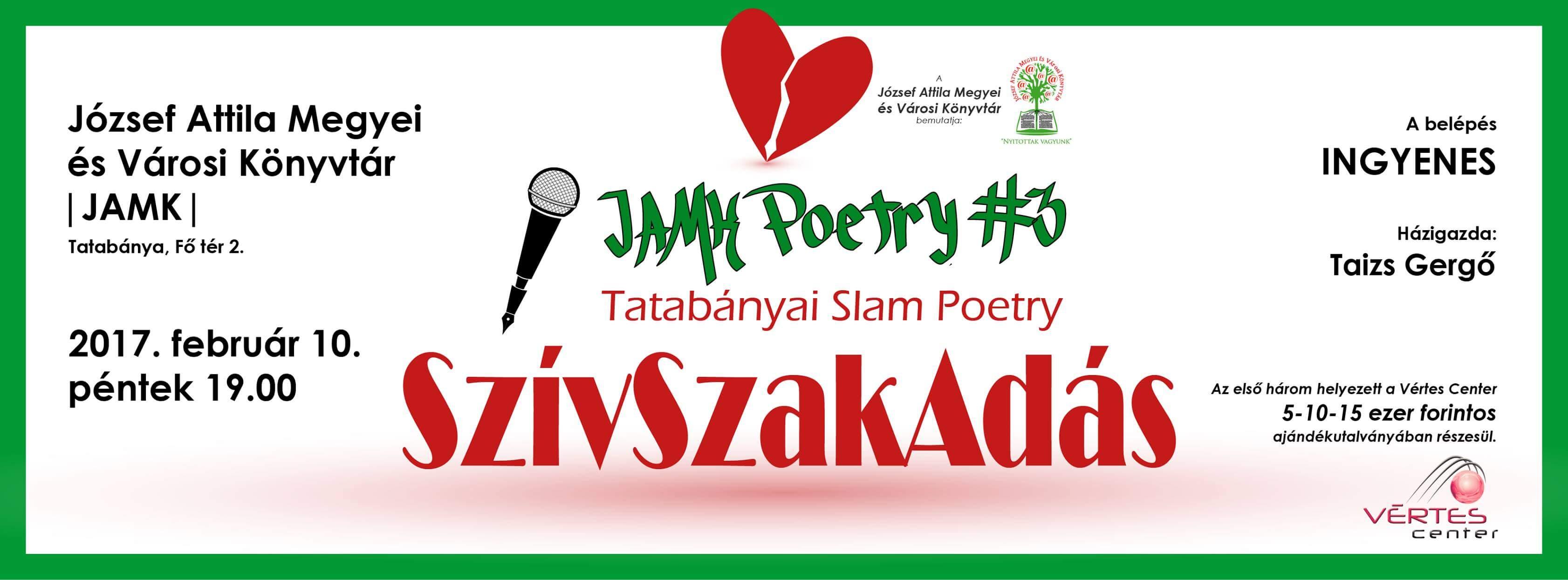 SzívSzakAdás – 3. JAMK Poetry