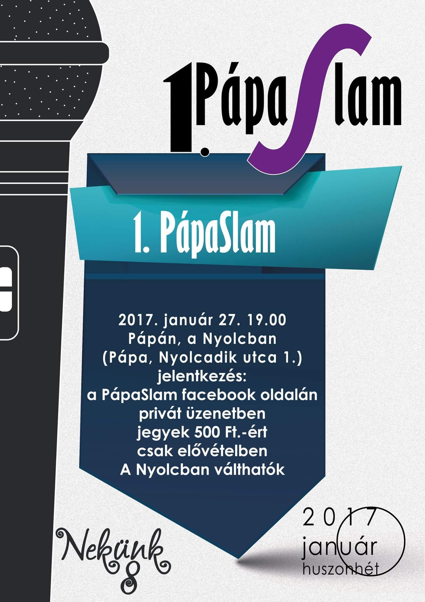1. Pápa Slam