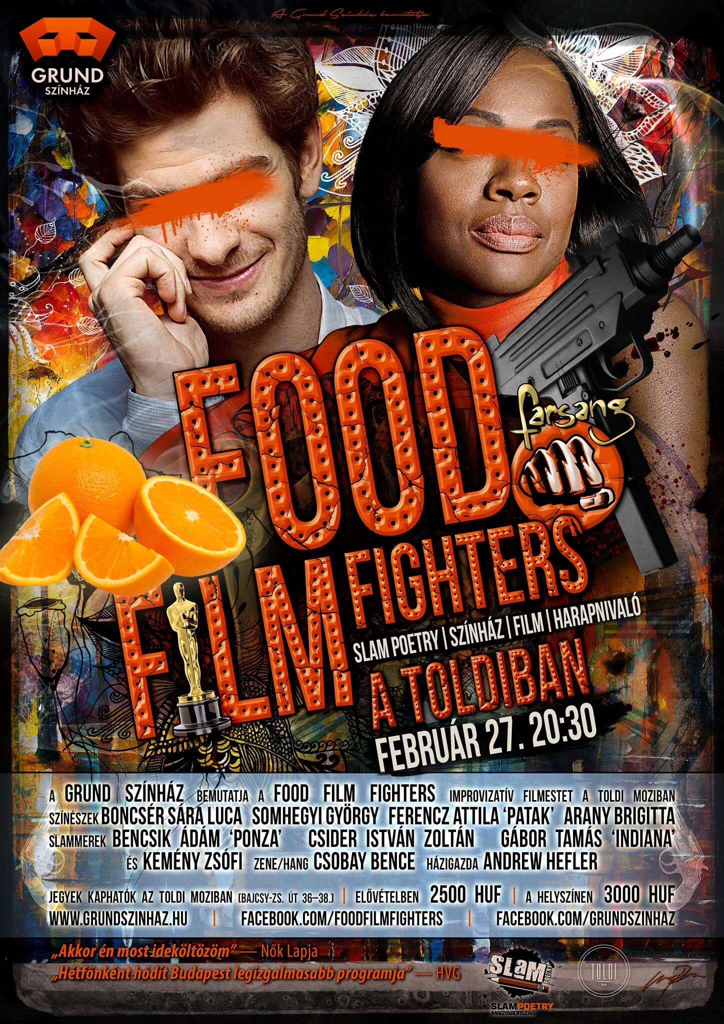 40. fOOD fILM fIGHTERS Farsang