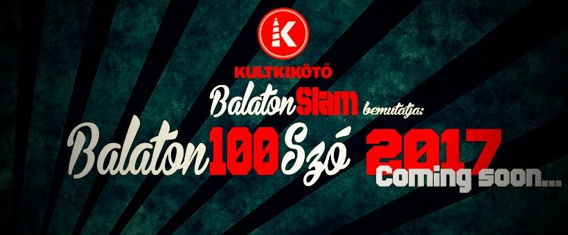 Balaton100Szó Hip-Hop/Slam Poetry Fesztivál
