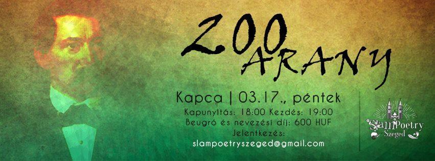 Slam Poetry Szeged Márciusi Klub – 200 Arany