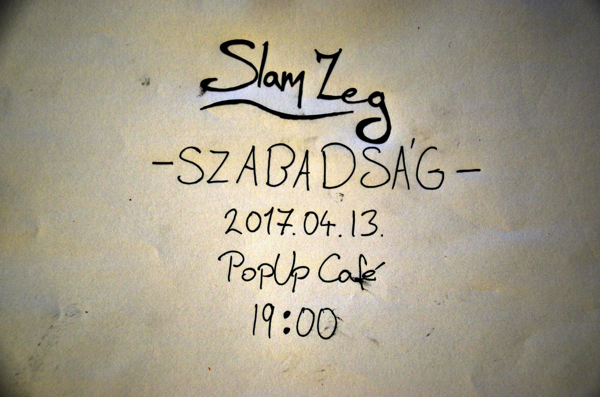 6. Slam Poetry Klub Zalaegerszeg