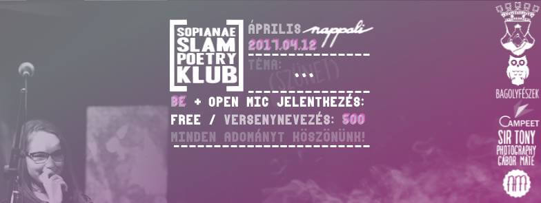 Áprilisi Sopianae Slam Poetry Klub