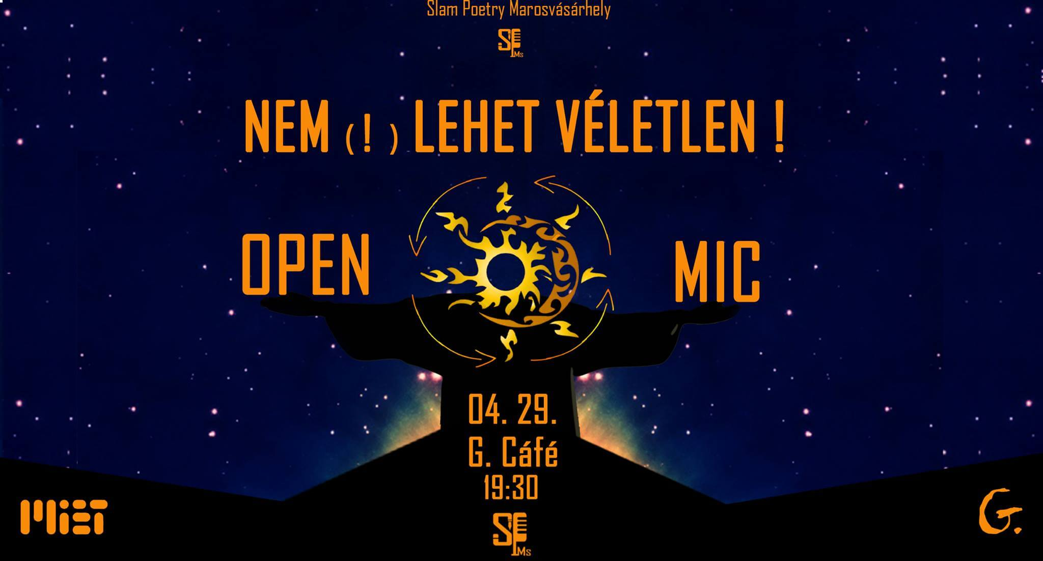 Slam Poetry – Open Mic