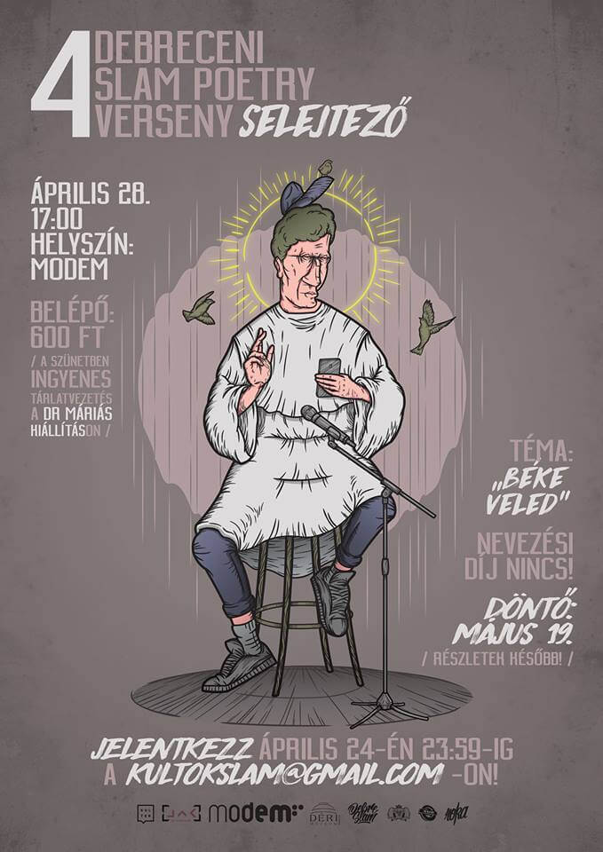 IV. Debreceni Slam Poetry Verseny (DSPV) Selejtező