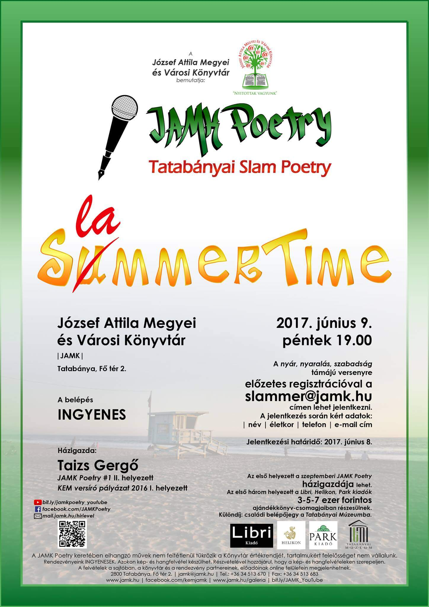 SummerSlammerTime – V. JAMK Poetry
