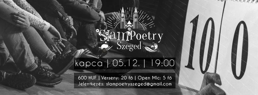 Slam Poetry Szeged Májusi Klub