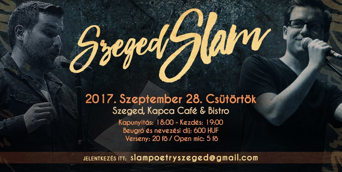 Slam Poetry Szeged Szeptemberi klub
