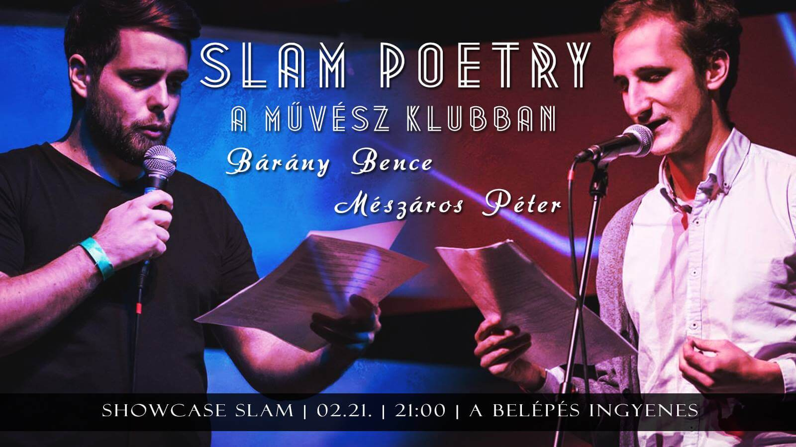 Slam Poetry bemutató a Művészklubban! | SPV
