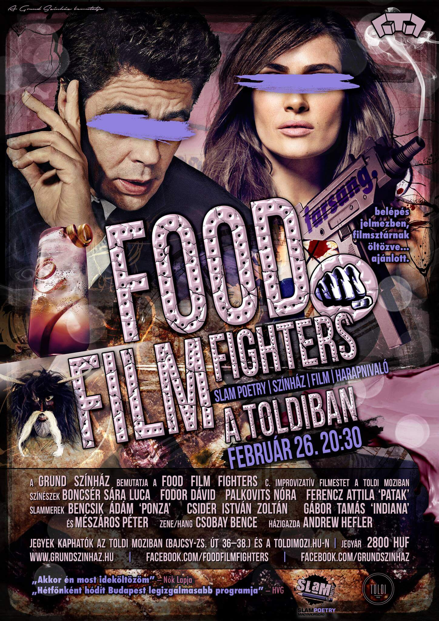 49. fOOD fILM fIGHTERS Farsang