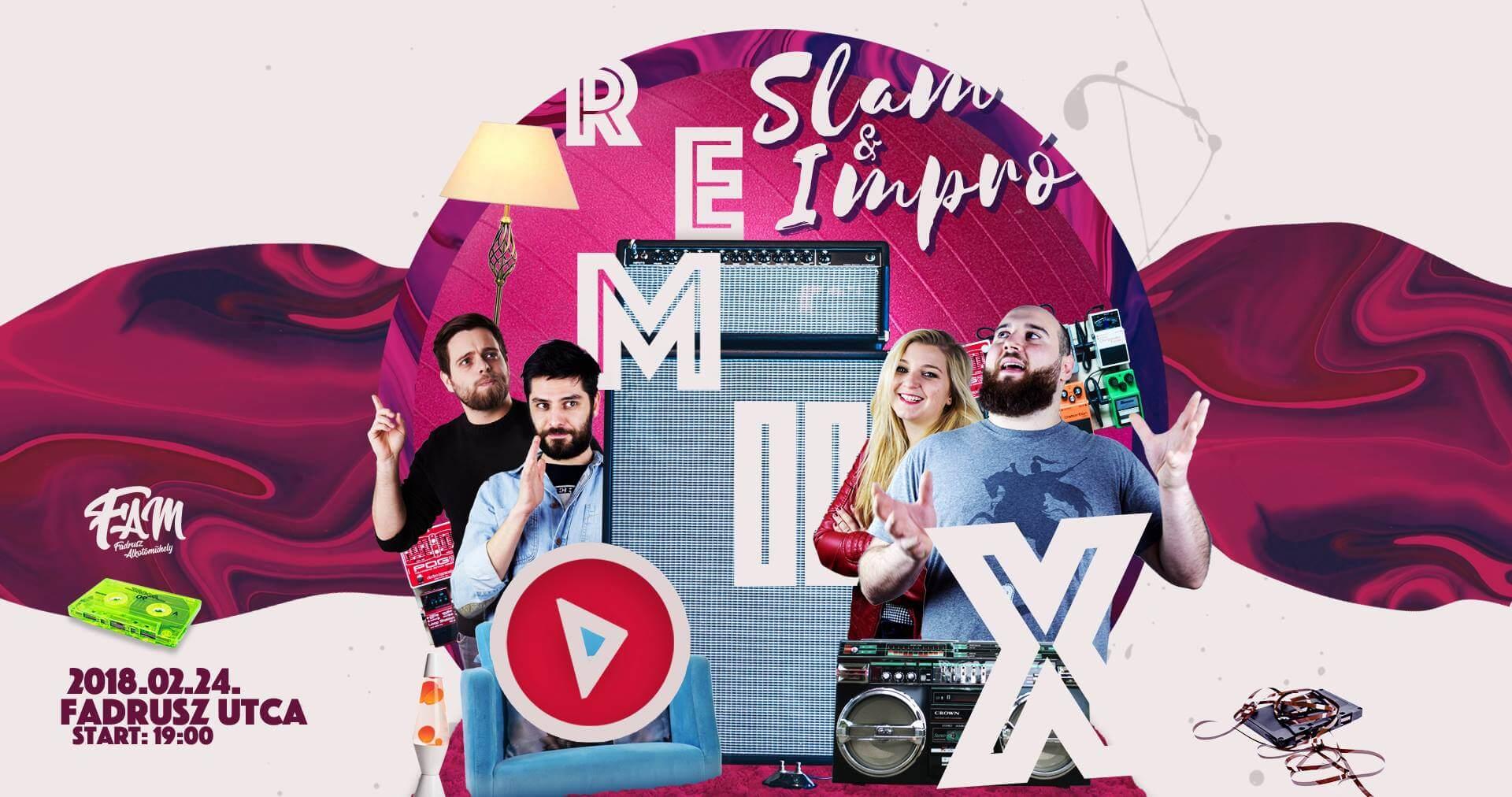 REMIX Premier! – 02.24 @Fam