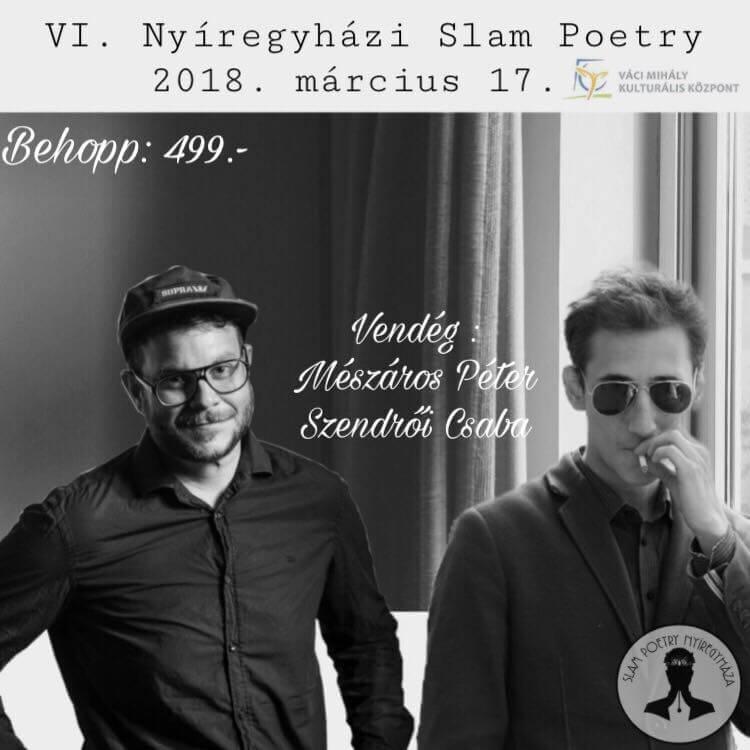 VI. Nyíregyházi Slam Poetry