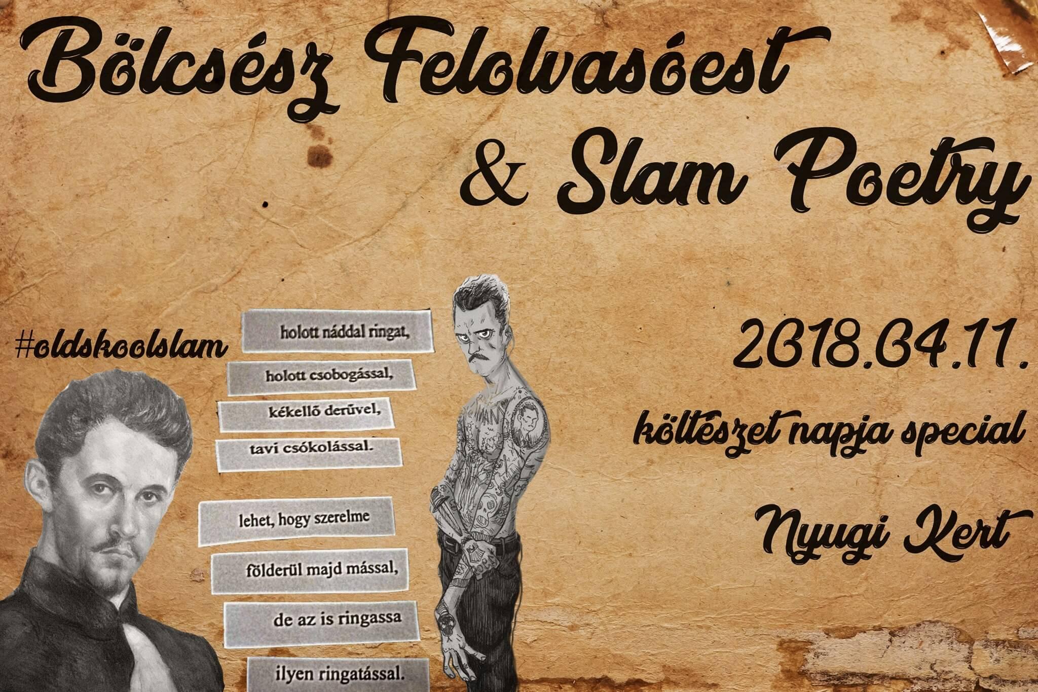 Bölcsész Felolvasóest & Slam Poetry | Magyar költészet napja