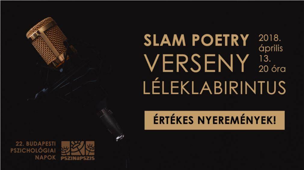 XXII. Pszinapszis – Slam Poetry Verseny