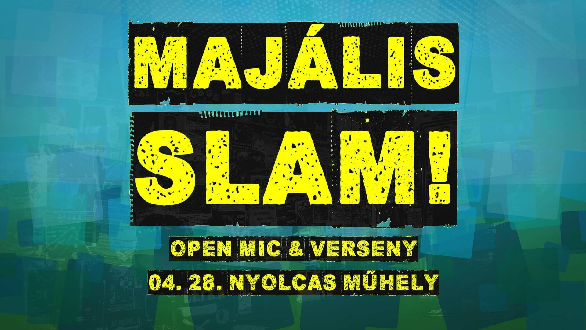 FehérvART Majális: Slam Poetry verseny & open mic