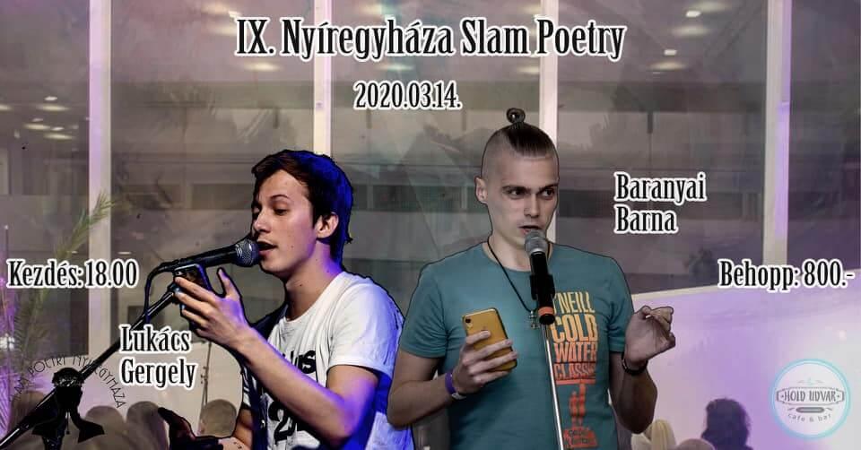 IX. Nyíregyházi Slam Poetry