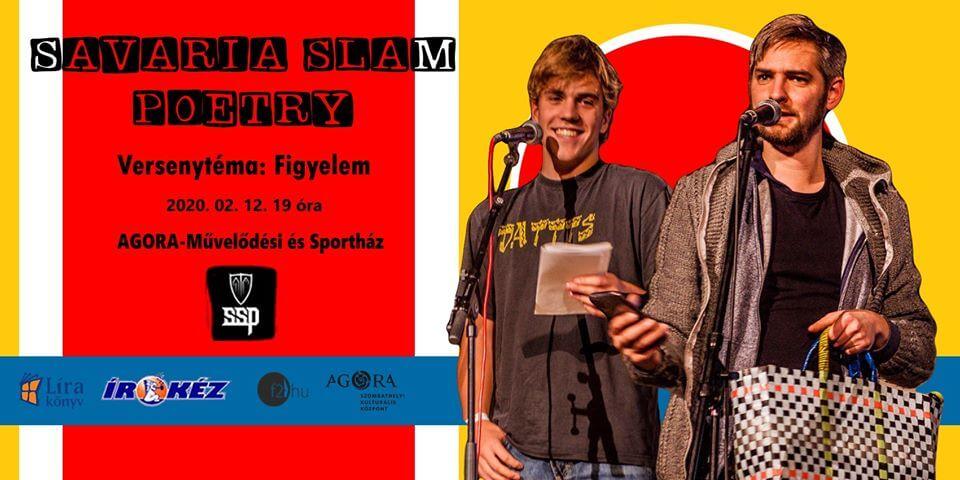 Savaria Slam Poetry – Figyelem