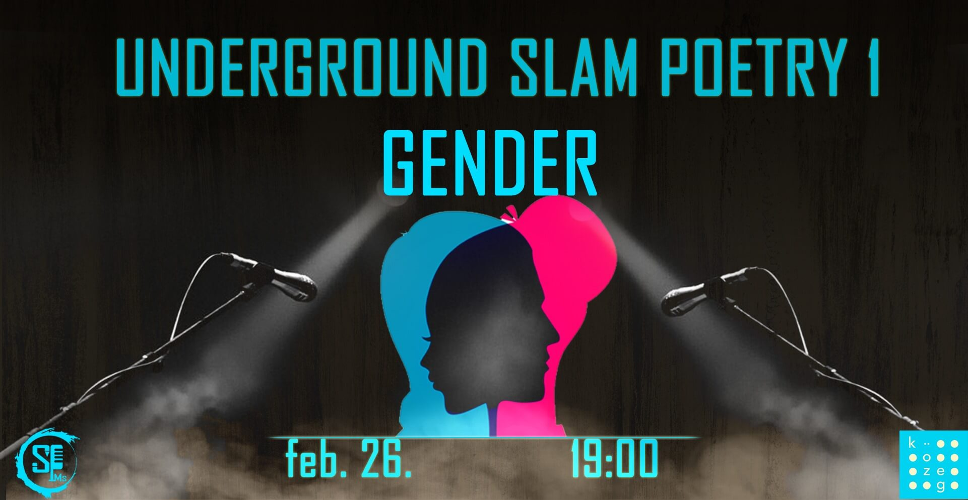 Underground Slam Poetry 1 – Gender