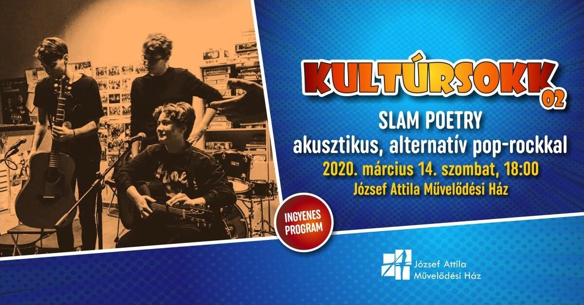 KulturSOKK | Slam poetry @Tatabánya