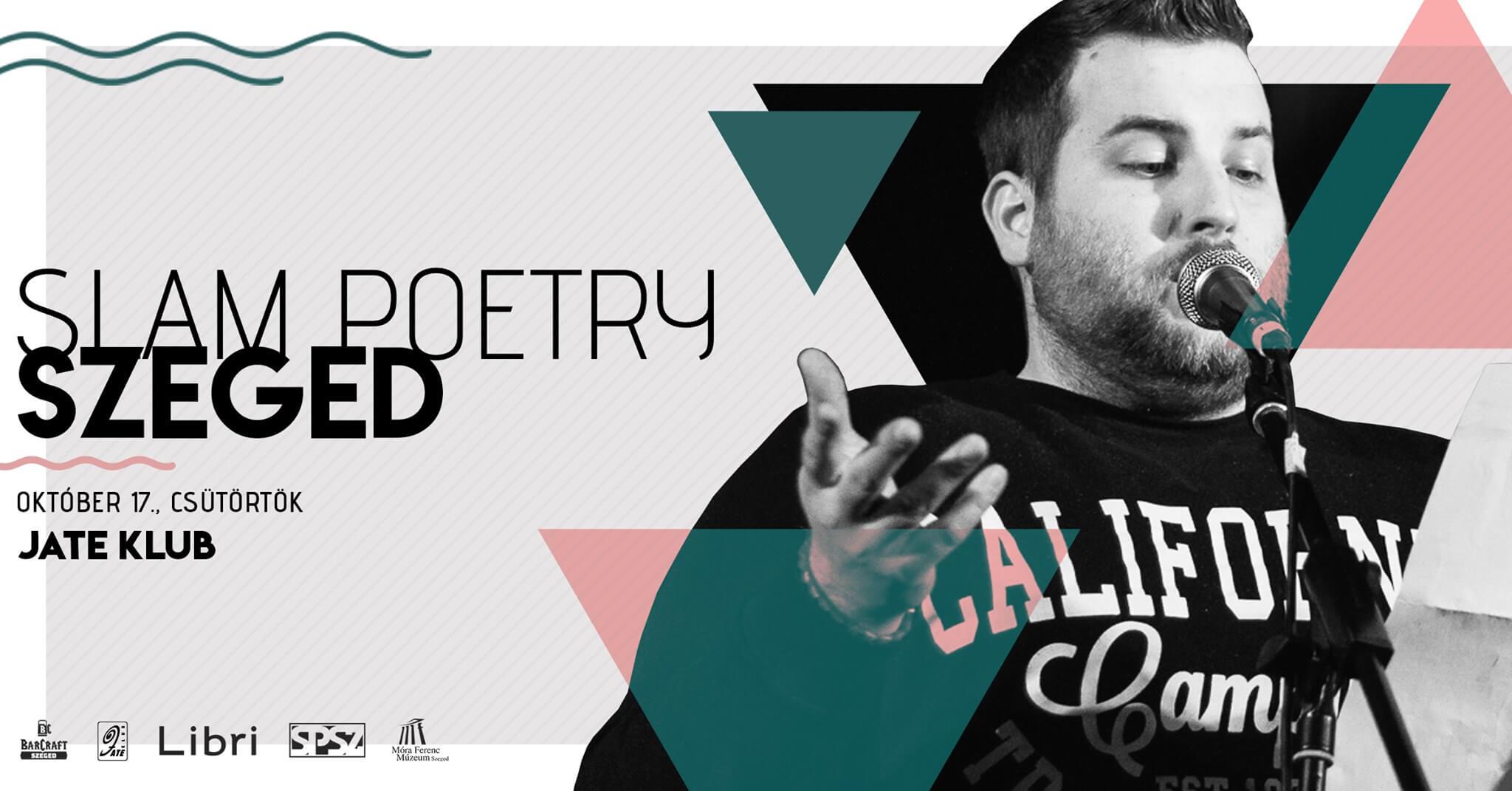 Slam Poetry Szeged – Októberi Klub @JATE