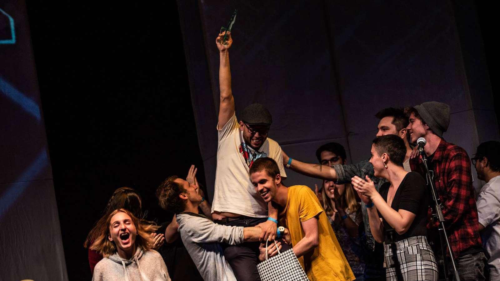 Sárközi Richárd is the new Hungarian Slam Poetry Champion