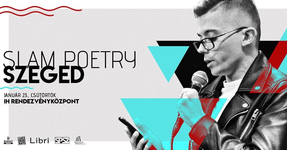 Slam Poetry Szeged – Januári klub @ΙΗ