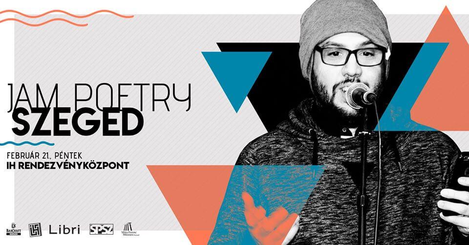 Jam Poetry Szeged – Februári Klub/Sárközi Richárd & Zeninjam @ΙΗ