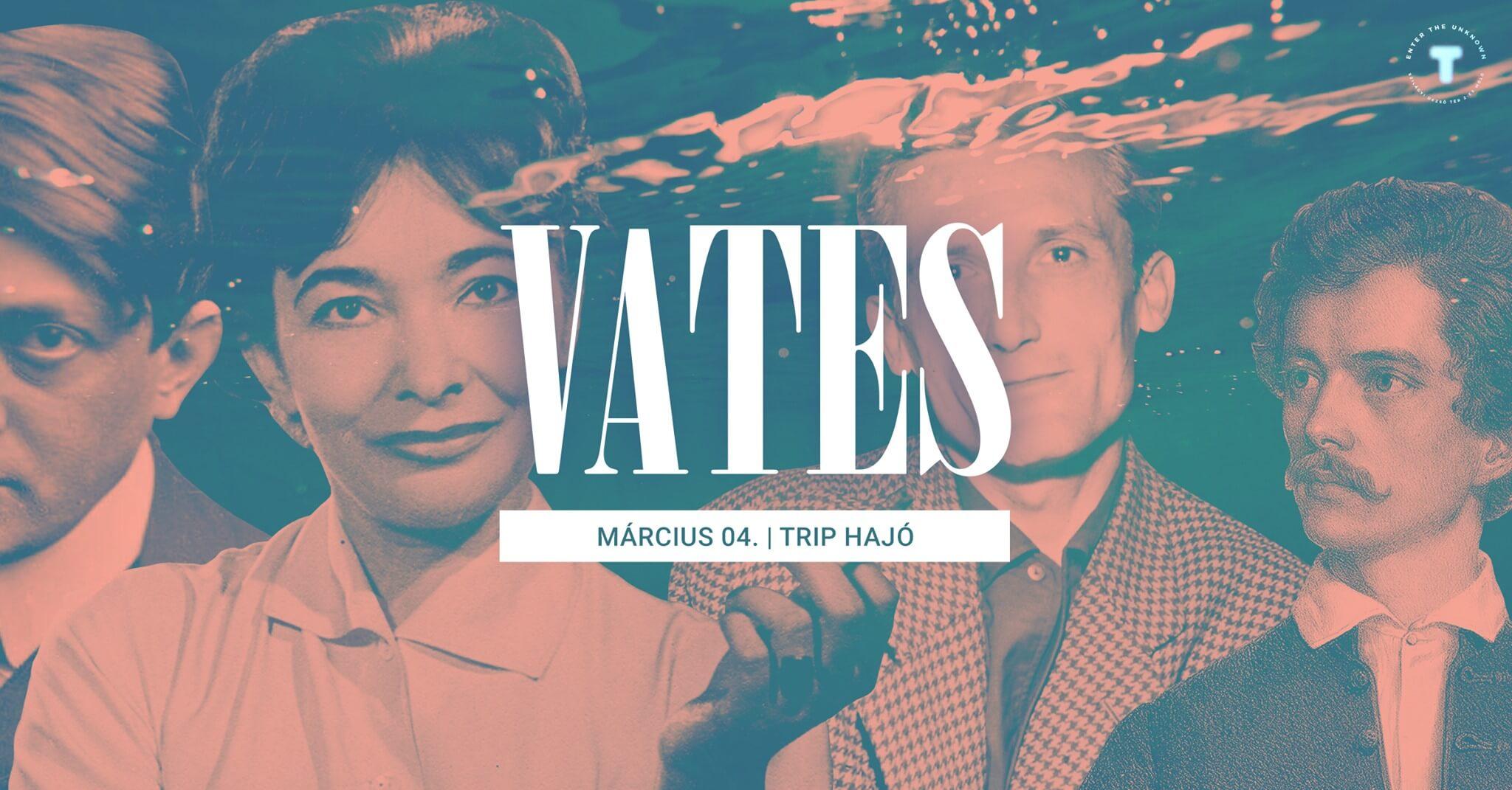 I. Vates Est @TRIP Hajó – kiállítás & előadások